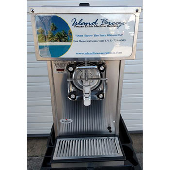 frozen drink machine rentals island