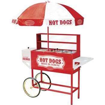 Old Fashioned Hot Dog Cart