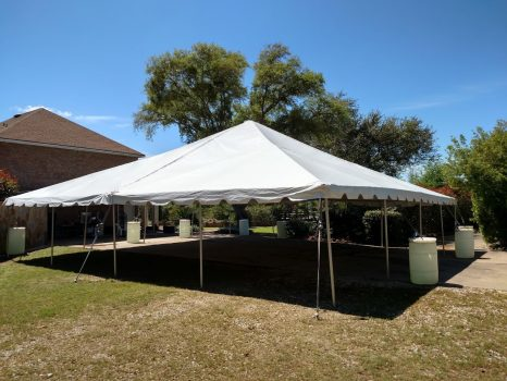 40 x 40 Frame Tent